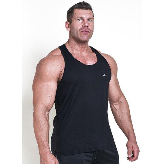 Chained Gym Stringer, Black