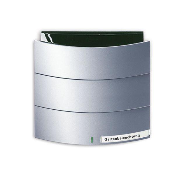 ABB Busch-triton 6320-0-0008 Painike Infrapuna, 1-napainen KNX Maalattu, matta, alumiini
