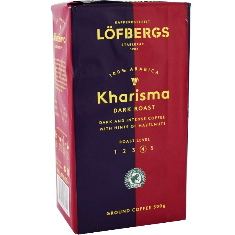 Suodatinkahvi Kharisma - 23% alennus