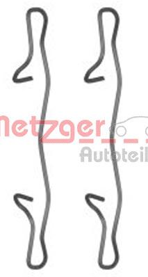 Tarvikesarja, jarrupala METZGER 109-1755