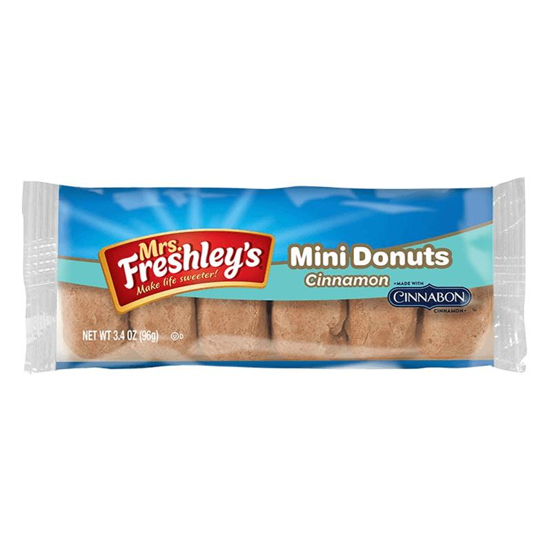 Mrs Freshleys Cinnamon Mini Donuts 85gram