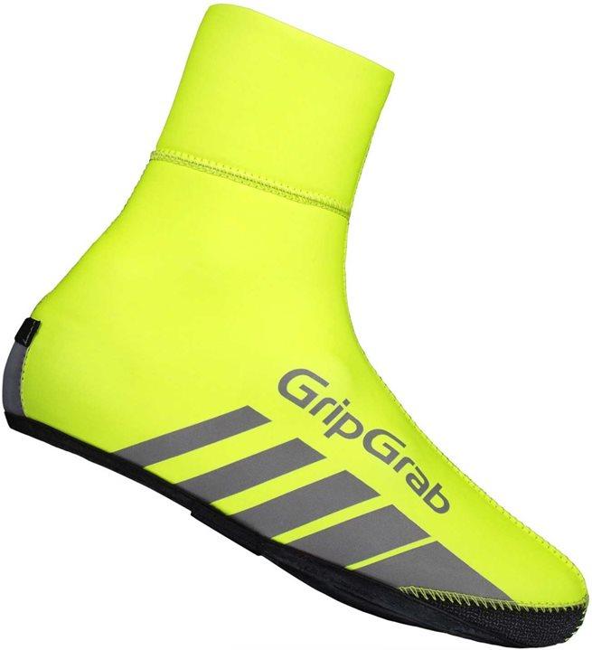 GripGrab RaceThermo Hi-Vis Waterproof Winter Shoe, Skoöverdrag vattentäta
