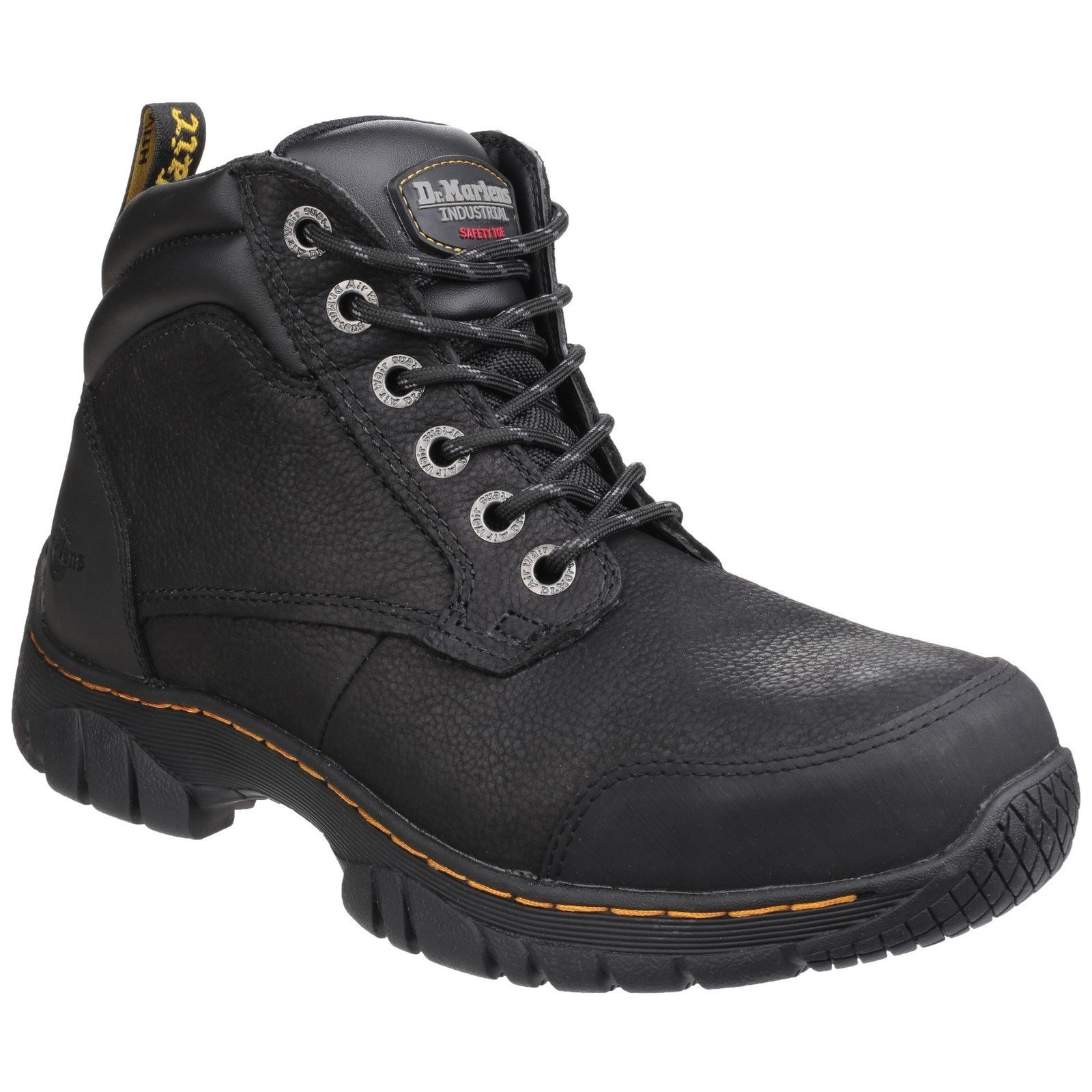 Dr Martens Unisex Riverton SB Lace up Hiker Boot Black 24533 - Black 13