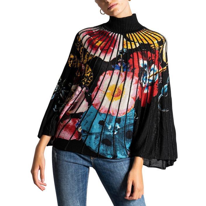 Desigual - Desigual Women Knitwear - black L