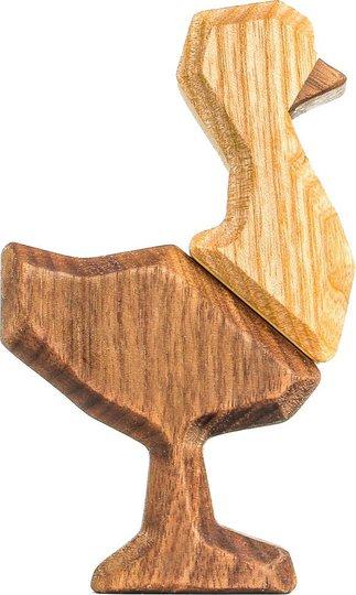 FableWood Little Ostrich Magnetisk Treleke