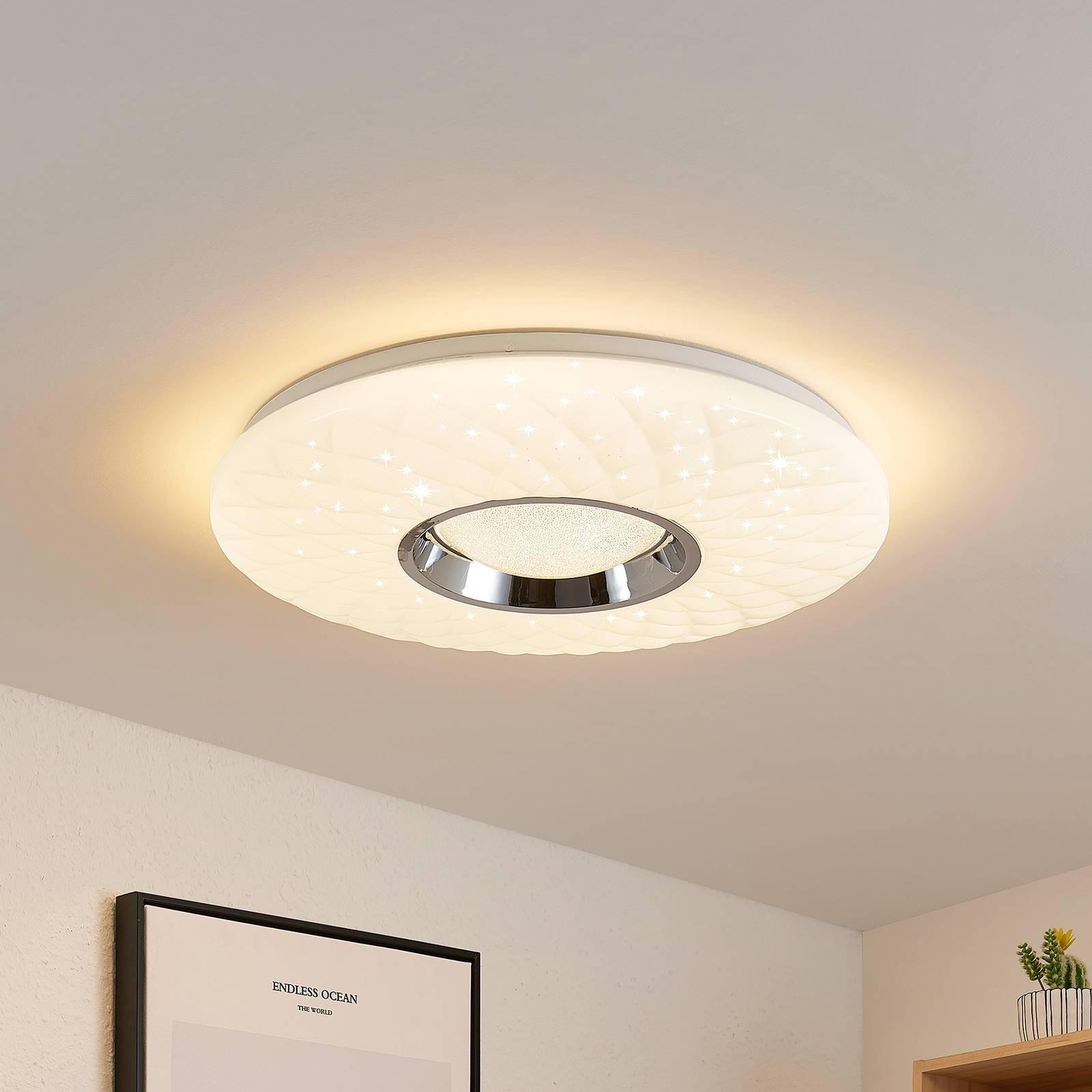 Lindby Illaria LED-taklampe, RGBW, CCT, 49 cm