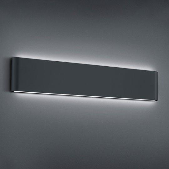 LED-ulkoseinälamppu Thames II, antrasiitti