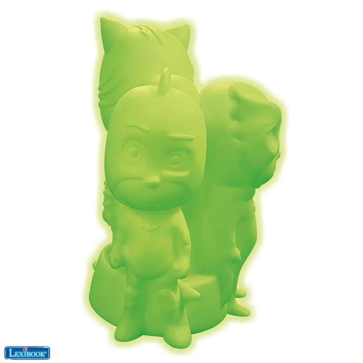 Lexibook - 3D PJ Masks design colour change night light approx. 20cm (NLJ005PJM)