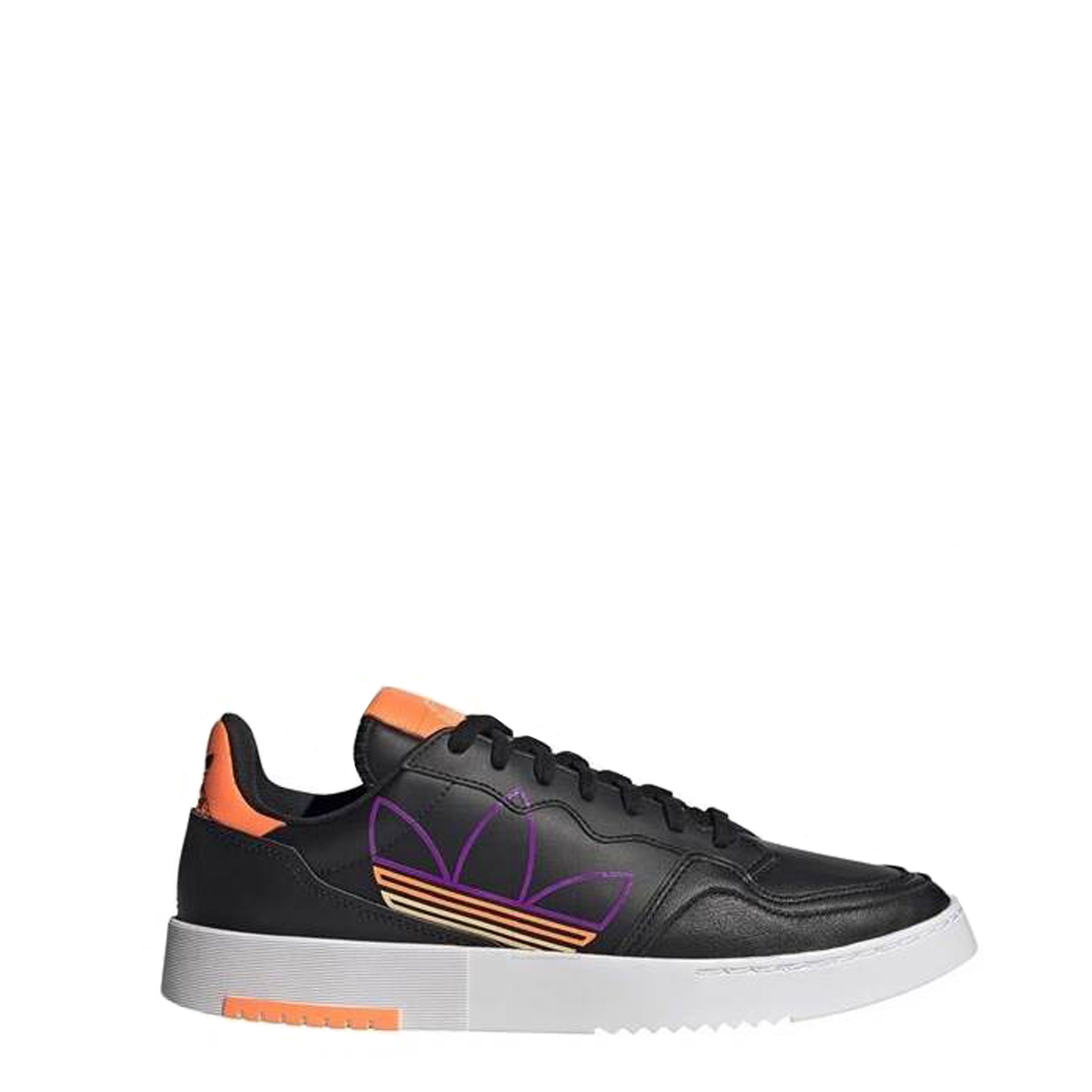 Adidas Unisex Trainer Various Colours FX5707_Supercourt - black UK 6.5