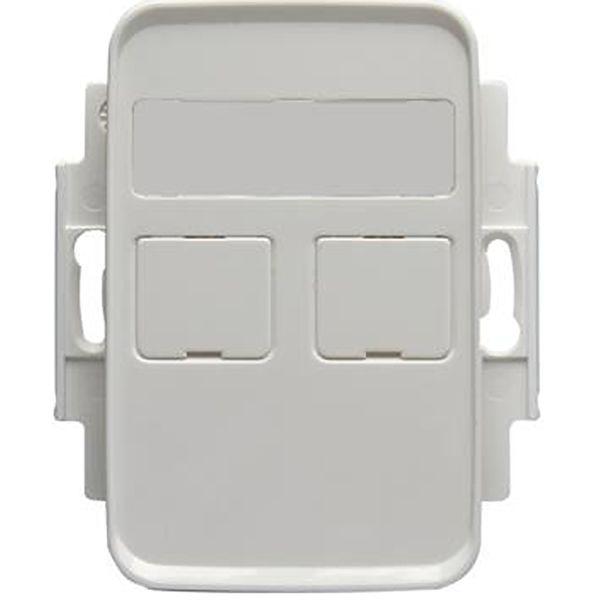 ABB FOT5030-100 Midtplate 2 porter, 100 mm Systimax