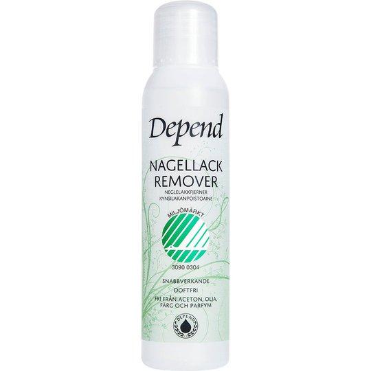 Depend Ecolabel Nail Polish Remover, 100 ml Depend Kynsilakanpoistoaineet