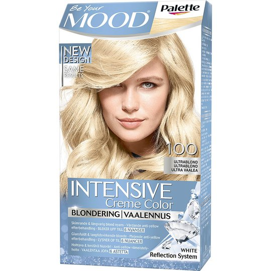 Mood Haircolor 100 Ultra Blond, MOOD Hiusvärit