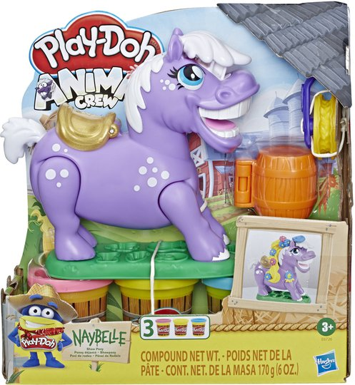 Play-Doh Lekeleire + Naybelle Show Pony