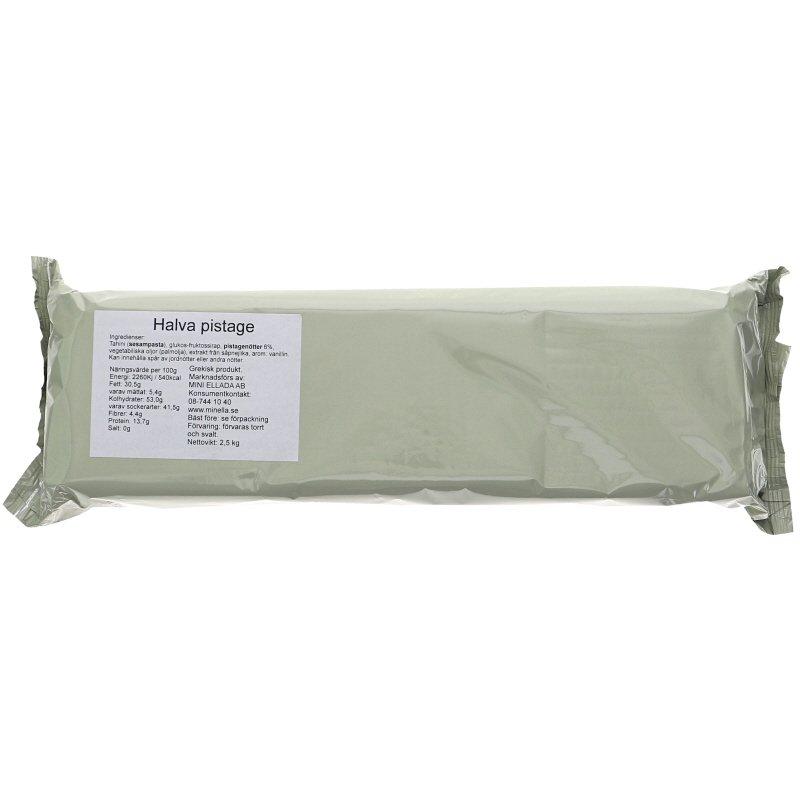 Halvas Pistage 2.5kg - 34% rabatt