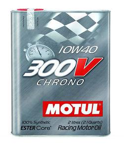 Moottoriöljy MOTUL 300V CHRONO 10W40 2L