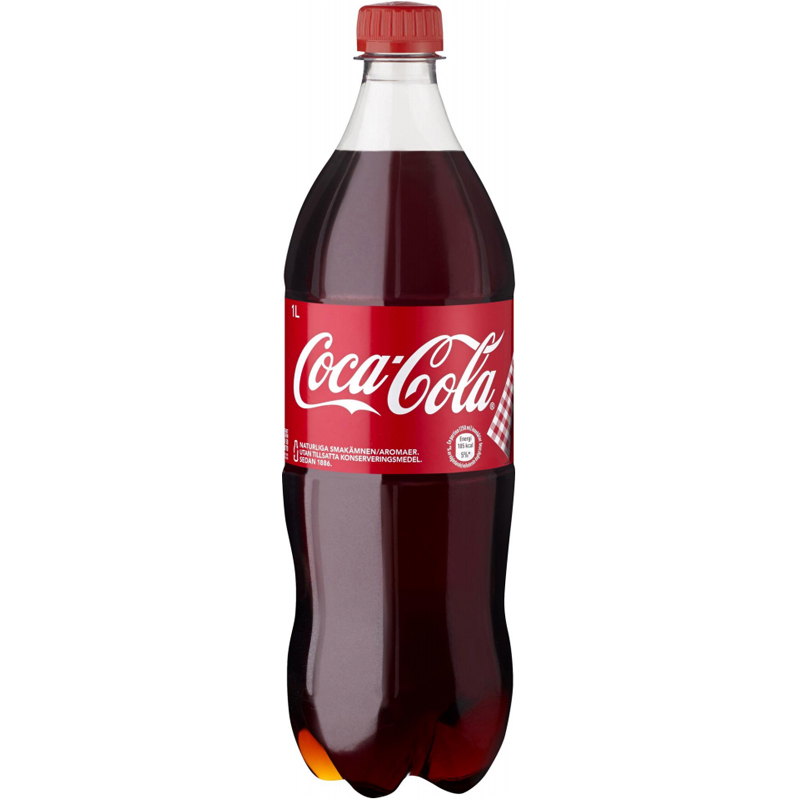 Coca-Cola 1l - 33% rabatt