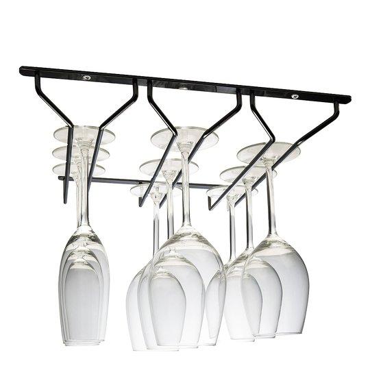 Hahn Kitchenware - Glashängare 3 rader Svart