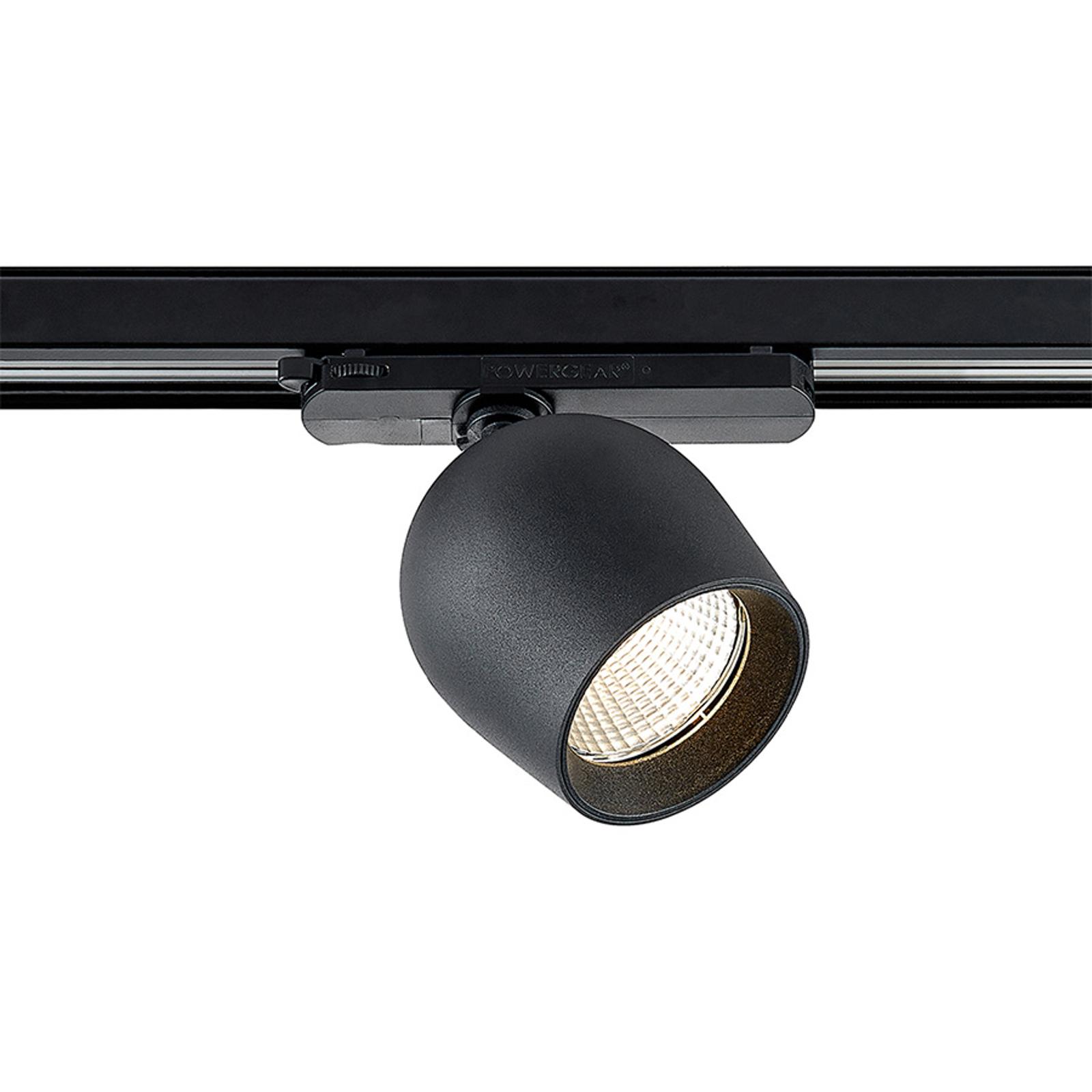 Arcchio Bauke LED-kiskokohdevalo musta 24W 3 000 K