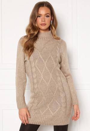 Happy Holly Arabella sweater dress Light beige 40/42