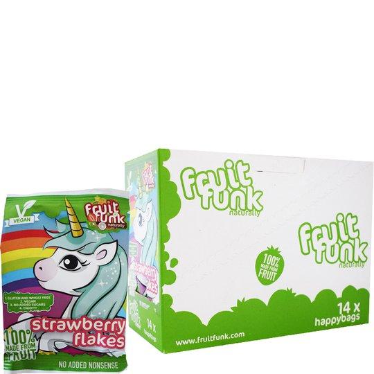 Fruktflingor Unicorn med jordgubbssmak 14-pack - 54% rabatt