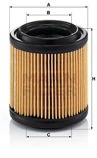 Ilmansuodatin MANN-FILTER C 710/1
