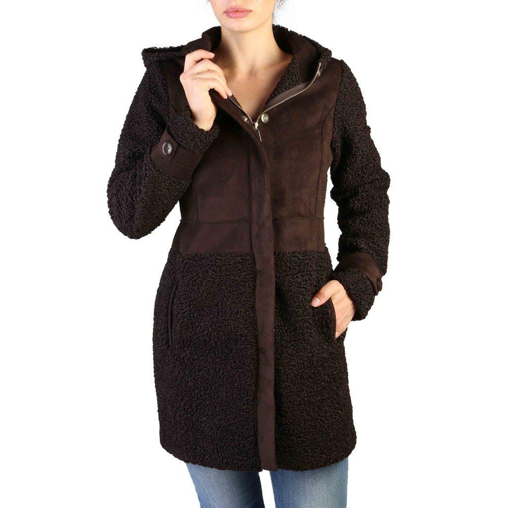Yes Zee Women's Coat Black O032_H900 - black L