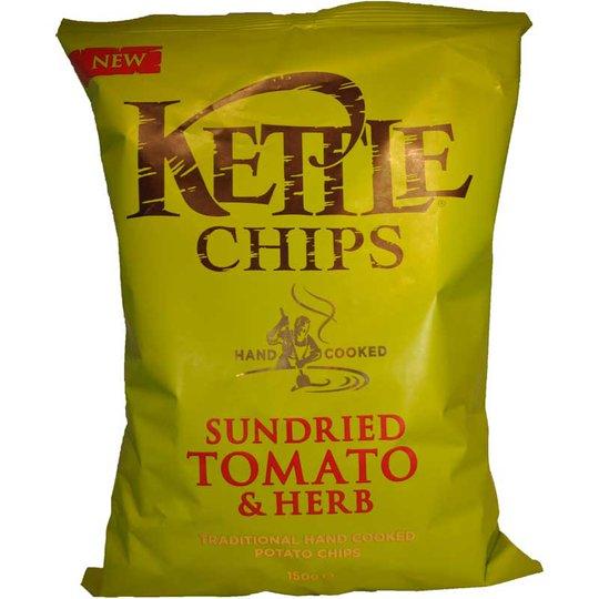 Chips Soltorkade tomater och örter - 50% rabatt