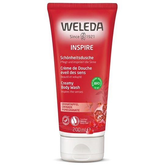 Weleda Pomegranate Creamy Body Wash, 200 ml