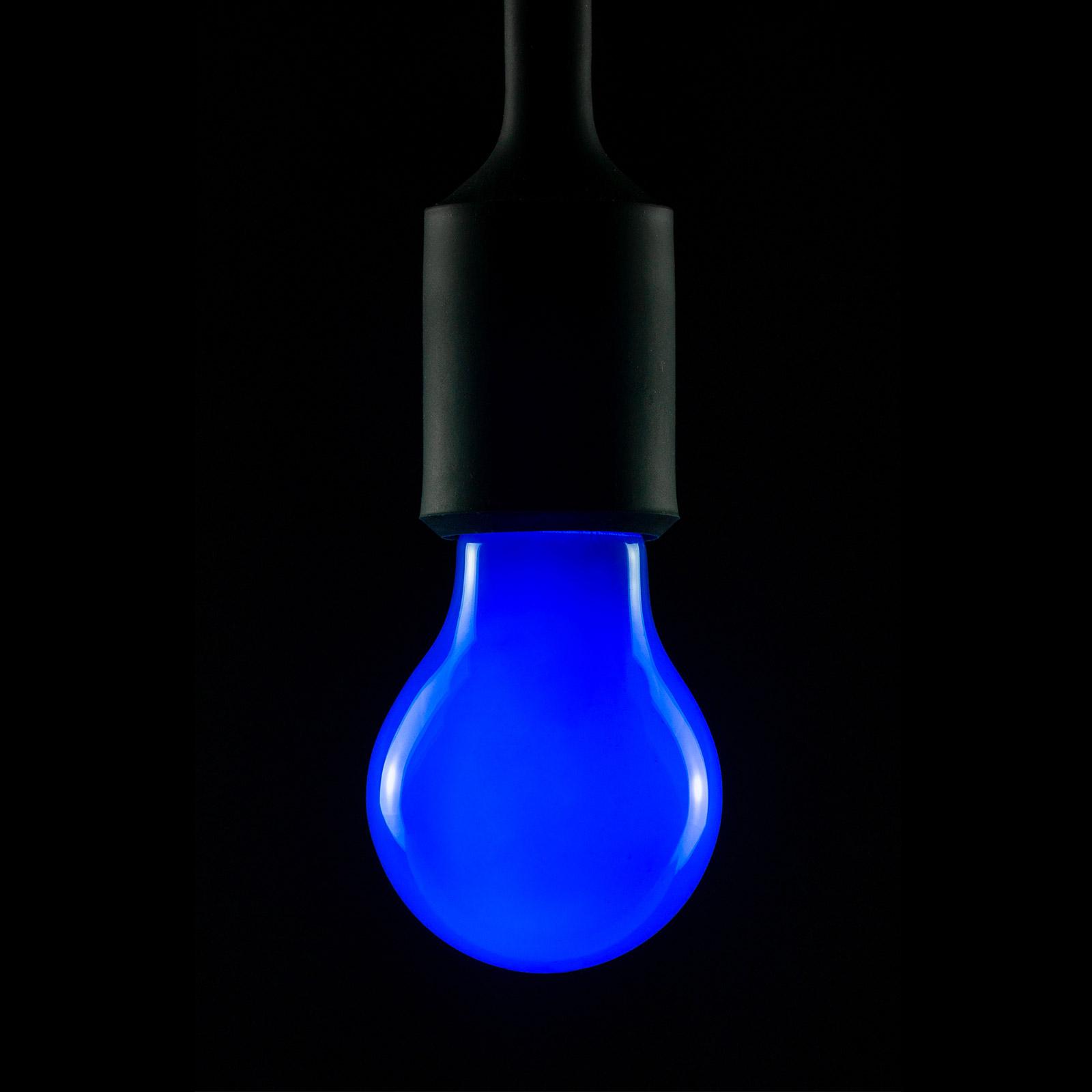 E27 2W LED-lamppu sininen, himmennettävä