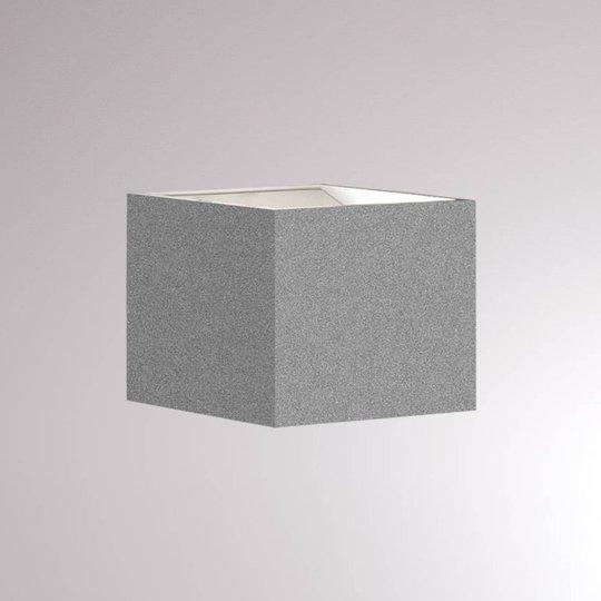 LOUM Foro LED-vegglampe 2 700 K bredde 7 cm sølv
