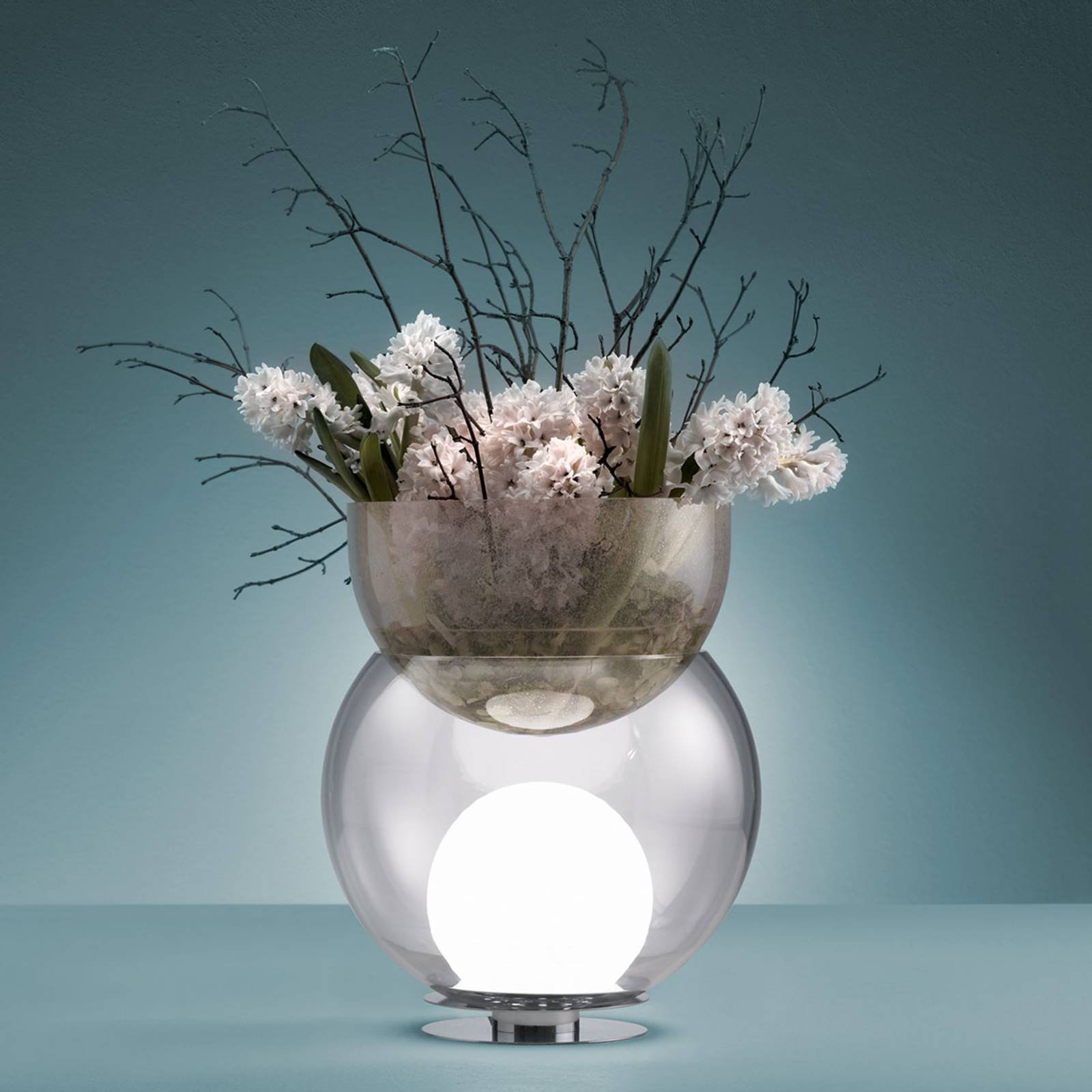 Dekorativ bordlampe Giova, 32 cm