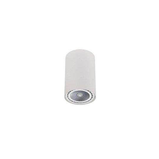 Takspot Bit i sylinderform hvit