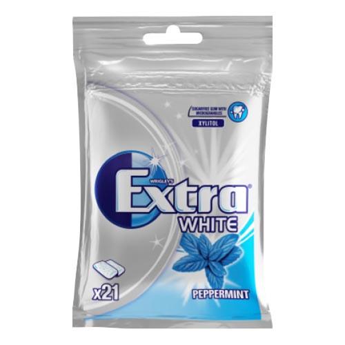 Extra White Peppermint Tuggummi - 29 g