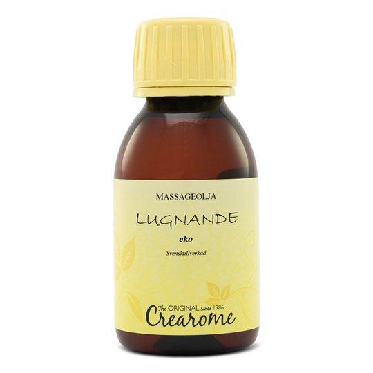 Crearome Ekologisk Massageolja Lugnande, 100 ml