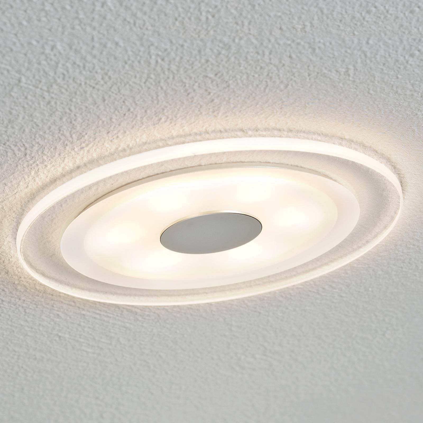 Flott LED-innfellingslampe Whirl, IP23
