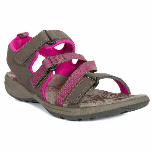 Trespass Women's Active Summer Sandals Aerial - Peat UK-4 / EU-37