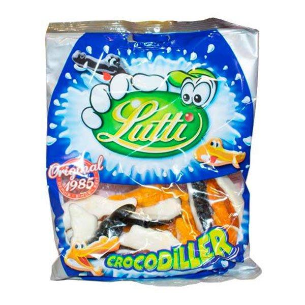 Lutti Crocodiller - 130 gram