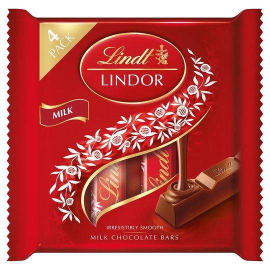 Lindor Milk Chocolate Bars 100g