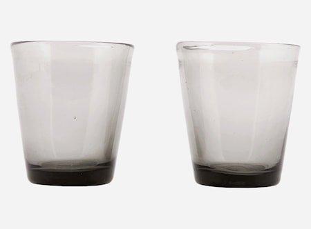 Glas Houston Grå Ø 8 Høyde 9 cm