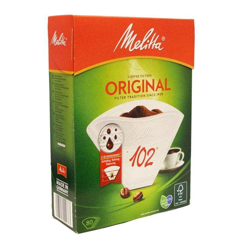 "Kaffefilter ""102"" 80-pack - 22% rabatt"