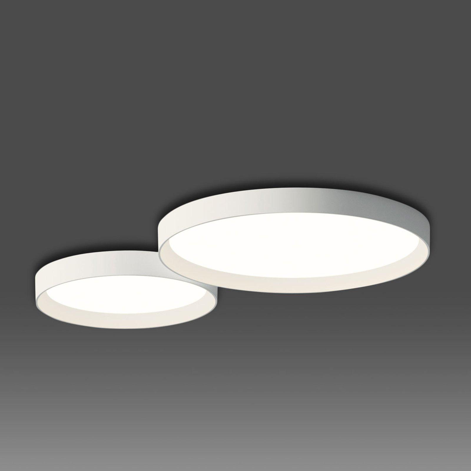 Up diskret LED taklampe hvit