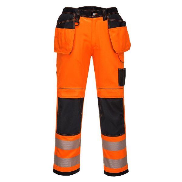 Portwest PW3 Arbetsbyxa Hi-Vis orange 28