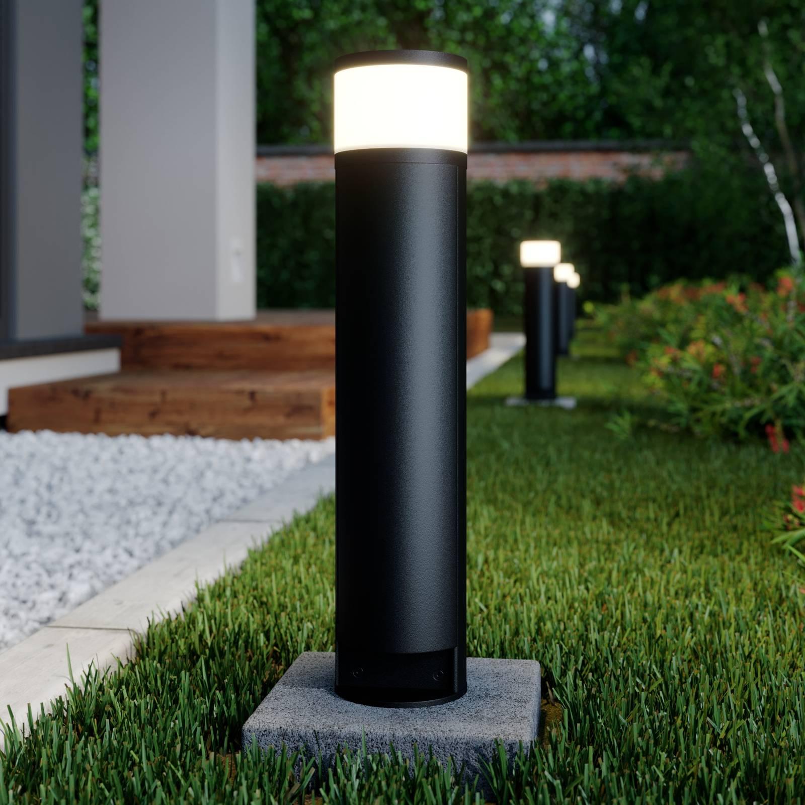 Lucande Corban -pollarilamppu, luukku, 2 pistor.