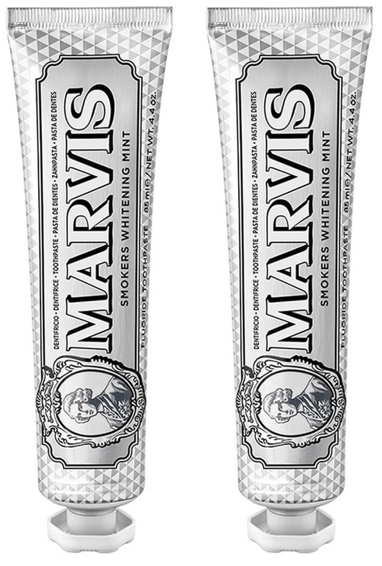 MARVIS - Toothpaste Whitening Mint for Smokers 2x85 ml