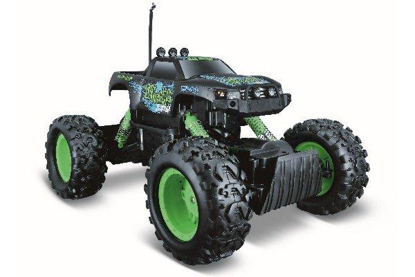 Maisto - Rock Crawler Off Road R/C 27MHz - Green/Black (140047)