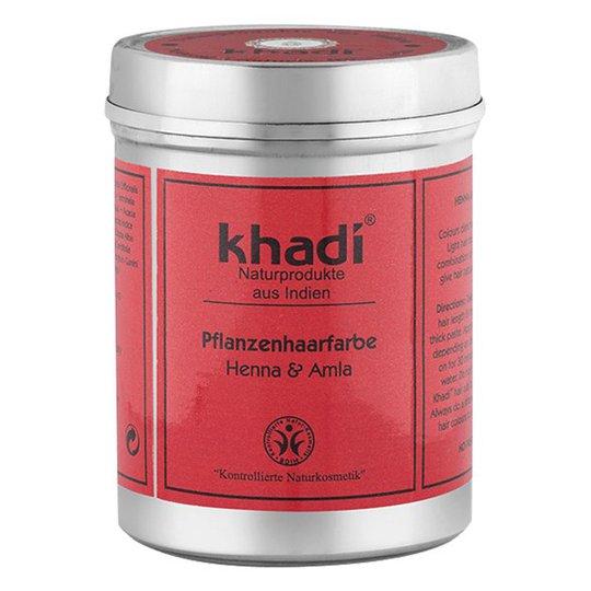 Khadi Naturlig Örthårfärg Henna & Amla, 150 g