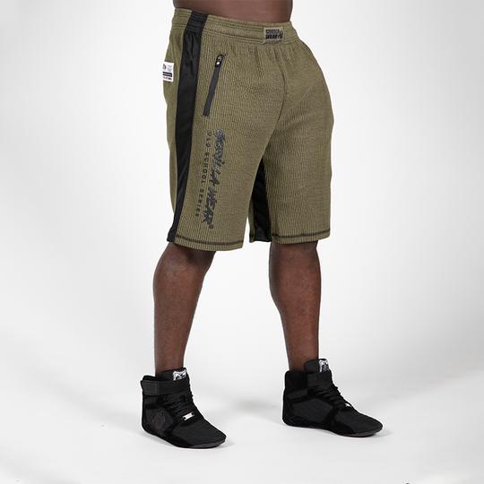 Augustine Old School Shorts, Army Green