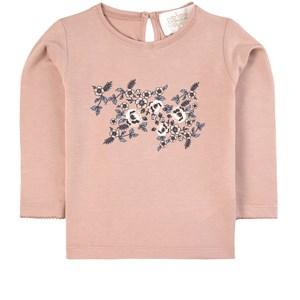 Creamie Floral T-shirt Adobe Rose 86 cm (1-1,5 år)