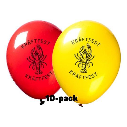 Ballonger Kräftfest - 10-pack
