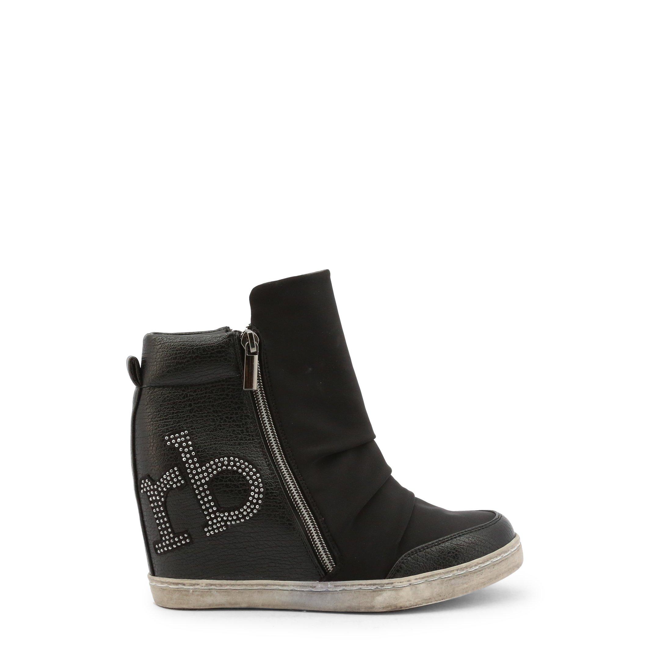 Roccobarocco Women's Ankle Boot Various Colours RBSC1JL01STD - black EU 37